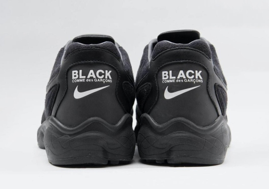 COMME des GARÇONS BLACK And Nike Team Up On The Zoom Talaria