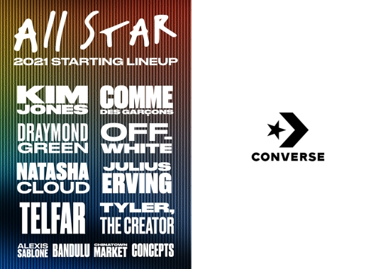 Converse Teases Collaborations With Off-White, CDG, Kim Jones, And More For Spring/Summer 2021