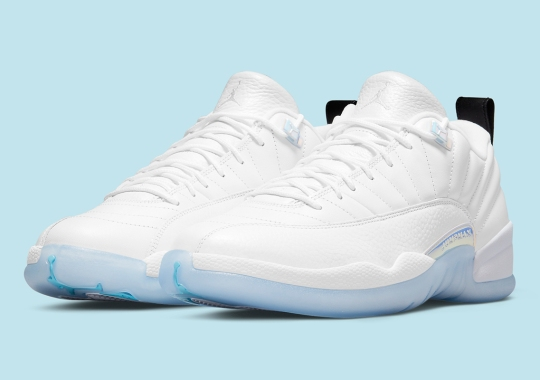 "The Air Jordan 12 Low ""Easter"" Features Full Icy Soles"