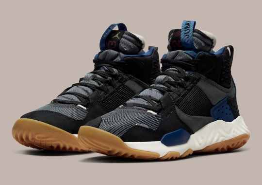 """The Jordan Delta Mid """"Storm Blue"""" Marks First Drop Since Union Collaboration"""