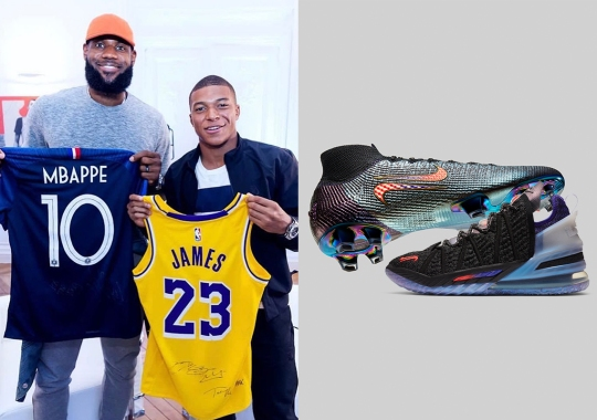 """LeBron James And Kylian Mbappé Join Forces For """"The Chosen 2"""" Pack"""