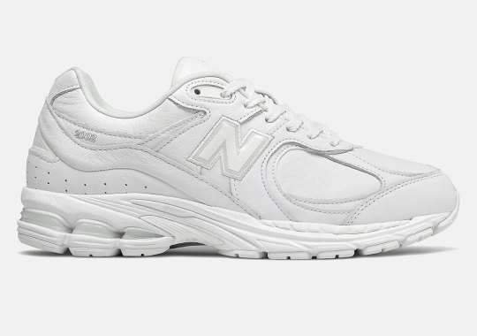 New Balance Sticks To Its Basics With An All-White 2002R