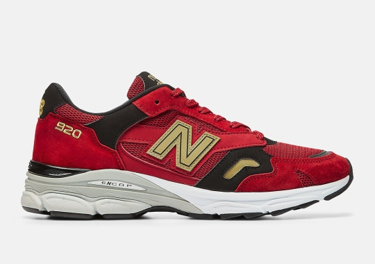 "The New Balance M920 Honors The ""Year Of The Ox"" With Red And Gold"