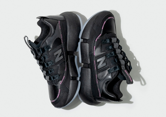 Jaden Smith's New Balance Vision Racer Arriving In New Black/Pink Colorway