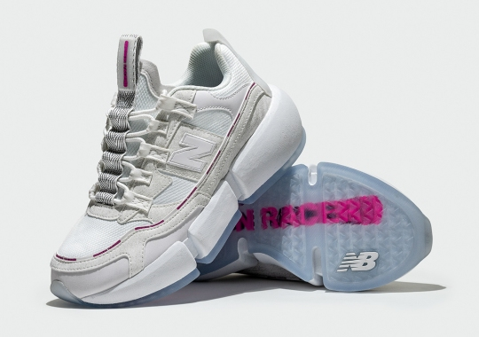Jaden Smith x New Balance Vision Racer Returns On January 29th In White And Pink