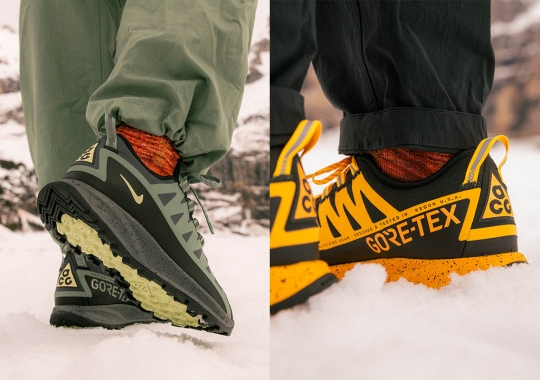 The Nike ACG Air Nasu GORE-TEX Delivered In Two Trail-Ready Colorways