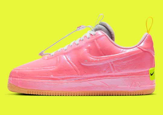 The Nike Air Force 1 Experimental Appears In Racer Pink And Arctic Punch