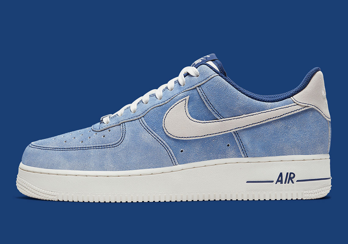 air force 1 suede bleu ciel