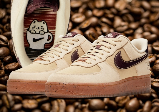 Nike's Coffee Excursion Continues With The Air Force 1 Low