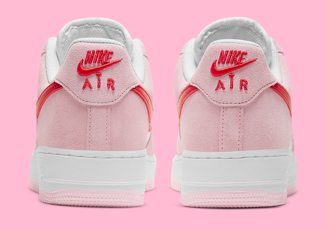 Valentine's Day Nike Air Force 1 Love Letter DD3384-600 ...