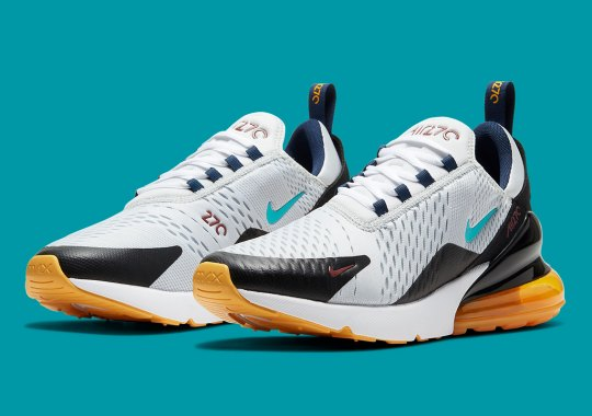 "Nike Adds Copper Accents To The Air Max 270 With ""Dusty Cactus"" Elements"