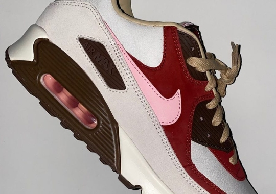 "First Look At The DQM Nike Air Max 90 ""Bacon"""