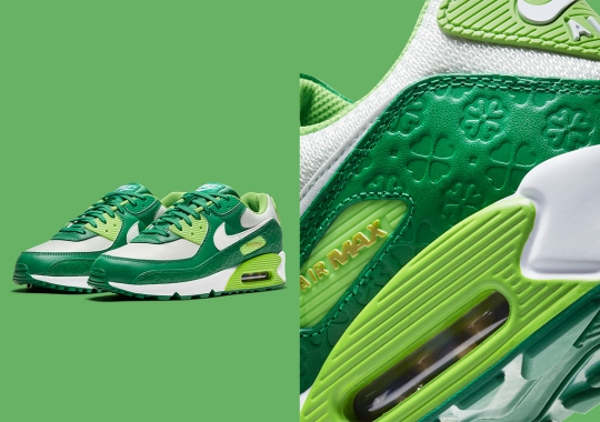 Nike Prepares An Air Max 90 For St. Patrick's Day 2021