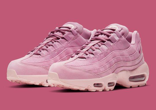 This Mugunghwa-Inspired Air Max 95 Is Blooming In Elemental Pink Suedes and Velours