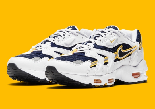 "Official Images Of The Nike Air Max 96 II OG ""Goldenrod"""