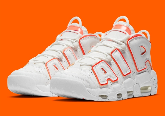 "Subtle ""Suns"" Colors Appear On The Nike Air More Uptempo"
