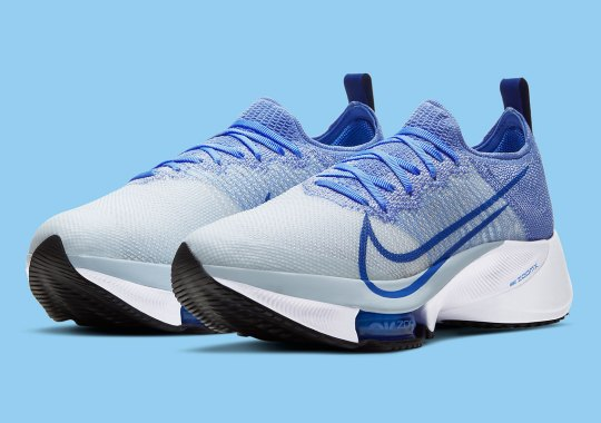 """The Nike Zoom Tempo NEXT% Gets A """"Royal Pulse"""" Treatment"""