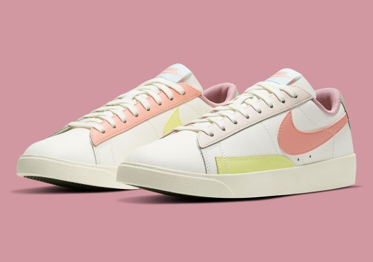 Spring-Ready Pastels Arrives On The Nike Blazer Low LE For Women