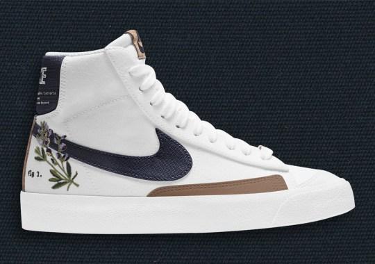 "Nike Explores The Plant World With The Blazer Mid ""Indigo"""