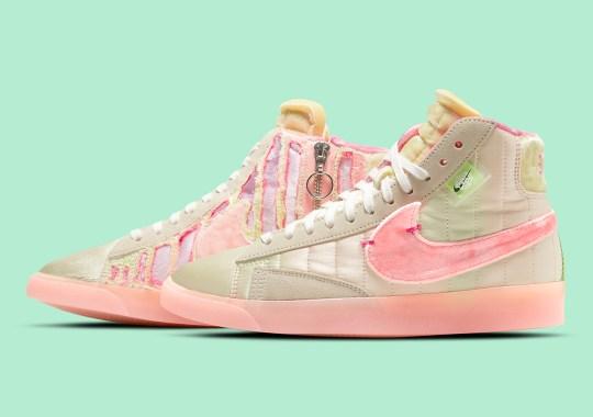 The Nike Blazer Mid Rebel Returns For Spring Festival With Full Tearaway Upper