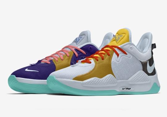 Nike By PG 5 Lets You Mix And Match Colors