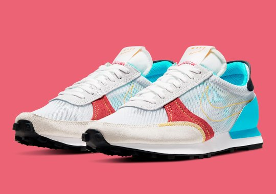 The Nike Daybreak Type Appears In Spring Ready Hits Of Laser Blue And Crimson