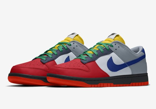 Update: Nike By You Dunk Low Is Available Now