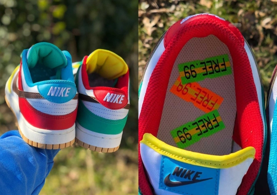 "Detailed Look At The Nike Dunk Low ""Free 99"""