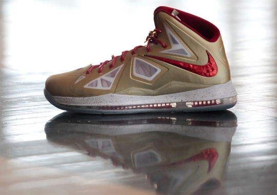 "Nike LeBron 10 ""Gold Ceremony"" PE Wins Vote Back Event"