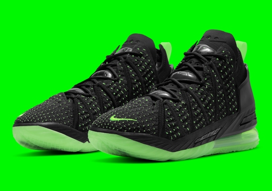 Dunkman Makes A Triumphant Return On The Nike LeBron 18
