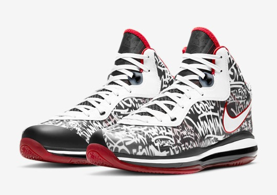 "Nike LeBron 8 QS ""Graffiti"" Releasing On January 23rd For #LeBronWatch"