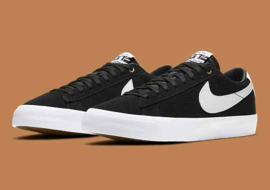 Grant Taylor's Nike SB Blazer Low GT Just Released In Black