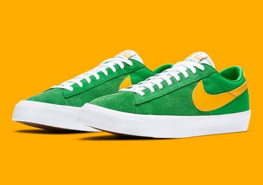 Classic Oregon Colors Land On The Nike SB Blazer Low GT