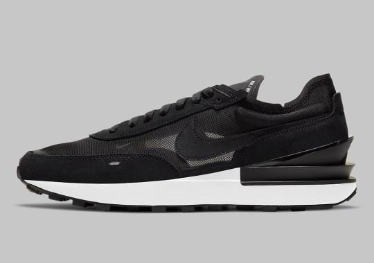 The Nike Waffle One Set To Arrive In A Sleek Black