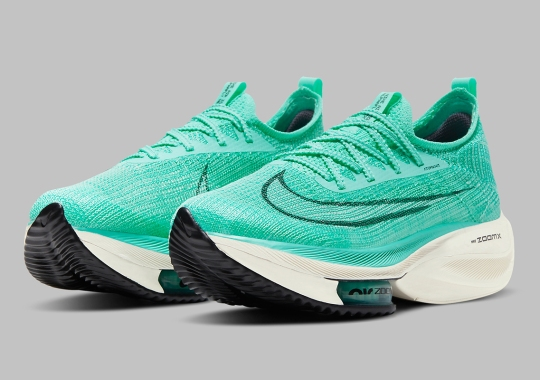The Nike Zoom AlphaFly NEXT% Set To Drop In Mint Green