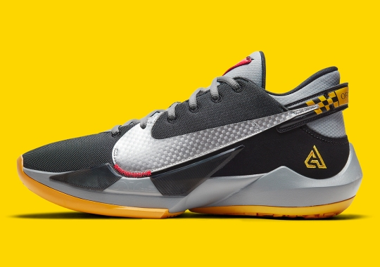 Giannis Antetokounmpo's Infamous Taxi Story Becomes A Nike Zoom Freak 2