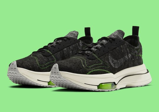 The Nike Zoom Type Joins The Brand's Sustainability Movements With Recycled Wool Uppers