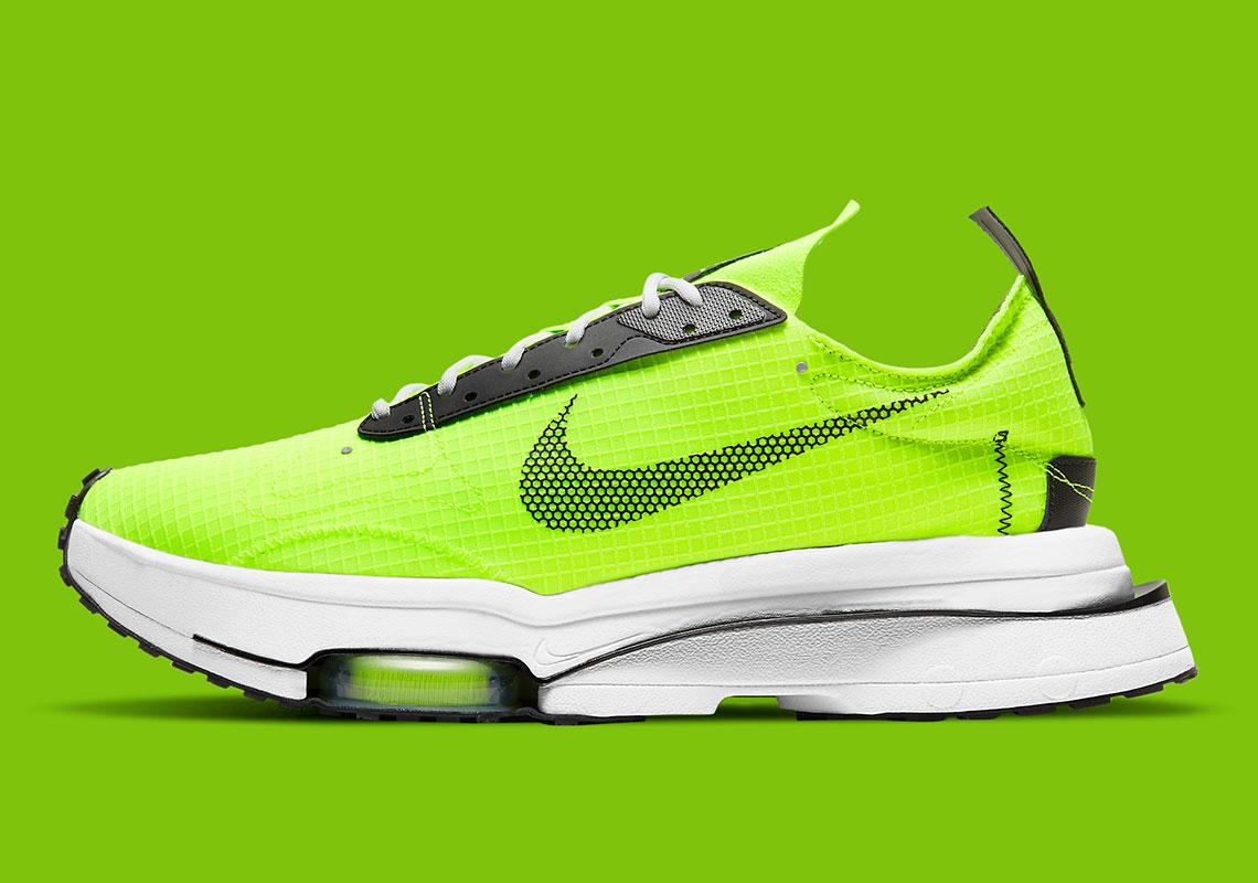 Nike Adds Ballistic Nylon Exterior On This Volt Zoom Type
