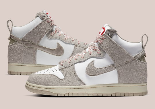 """Official Images Of The Notre x Nike Dunk High """"Light Orewood Brown"""""""