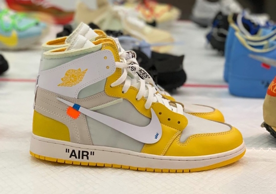 Off-White Air Jordan 1, Dunks, Air Force 1s, And More Confirmed For 2021