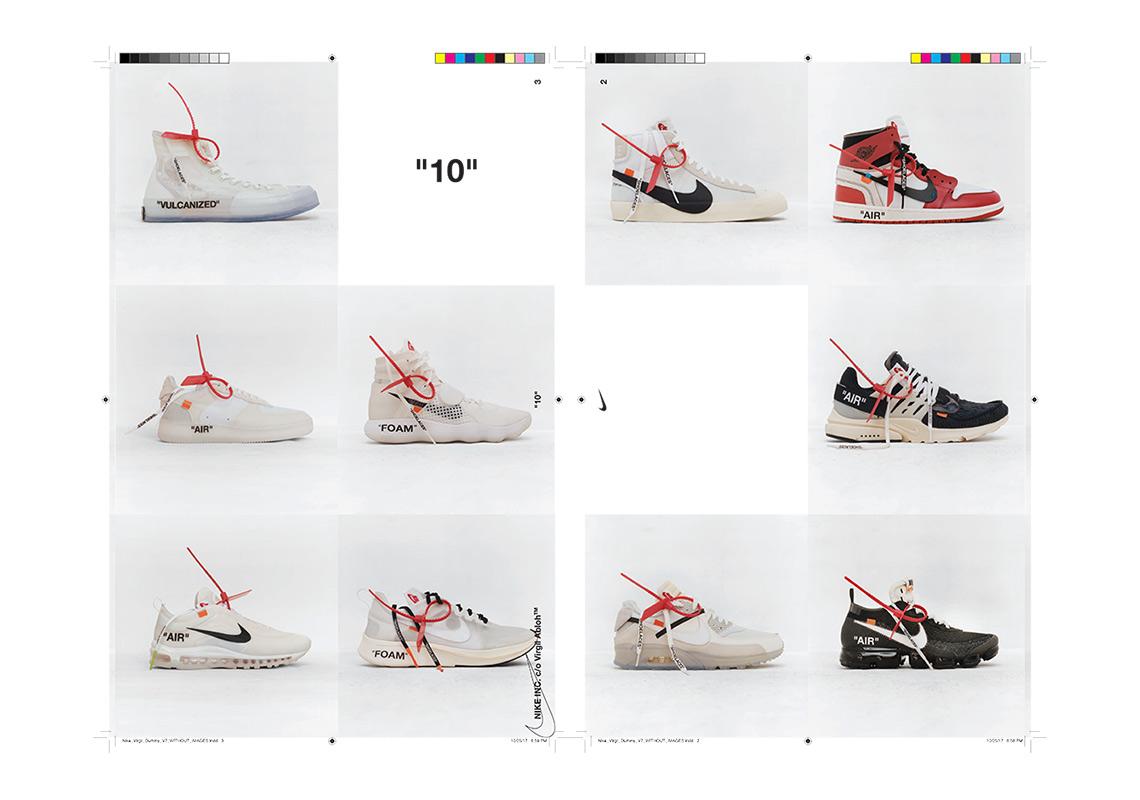 corrupción guión dormitar  Virgil Abloh Off-White Nike The Twenty 20 Collection   SneakerNews.com