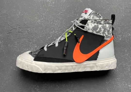 READYMADE Resculpts The Nike Blazer With Recycled Materials