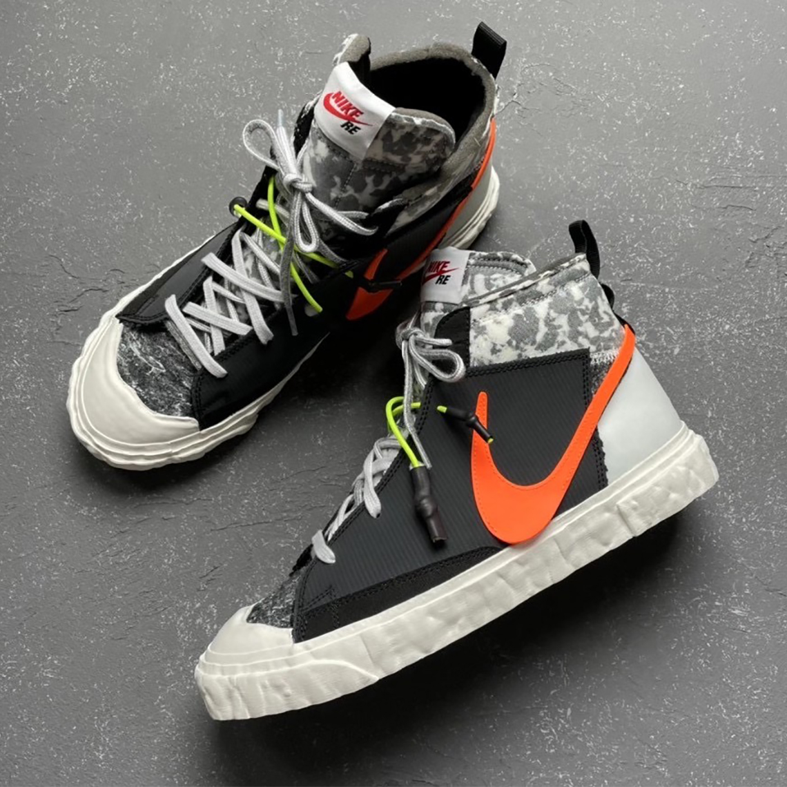 READYMADE Nike Blazer Mid CZ3589-001 | SneakerNews.com