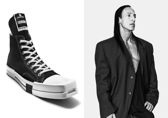 Converse And Rick Owens DRKSHDW Unveil The TURBODRK Chuck 70