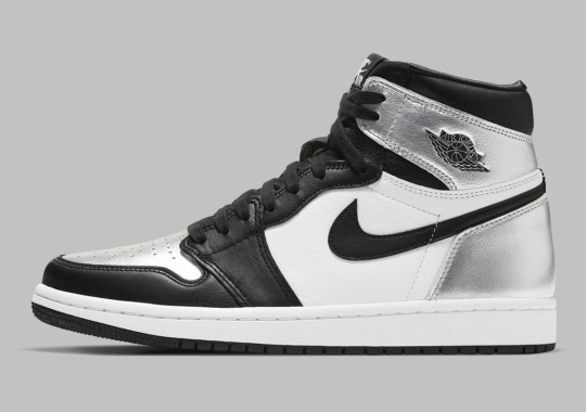 "Official Images Of The Air Jordan 1 Retro High OG ""Silver Toe"""