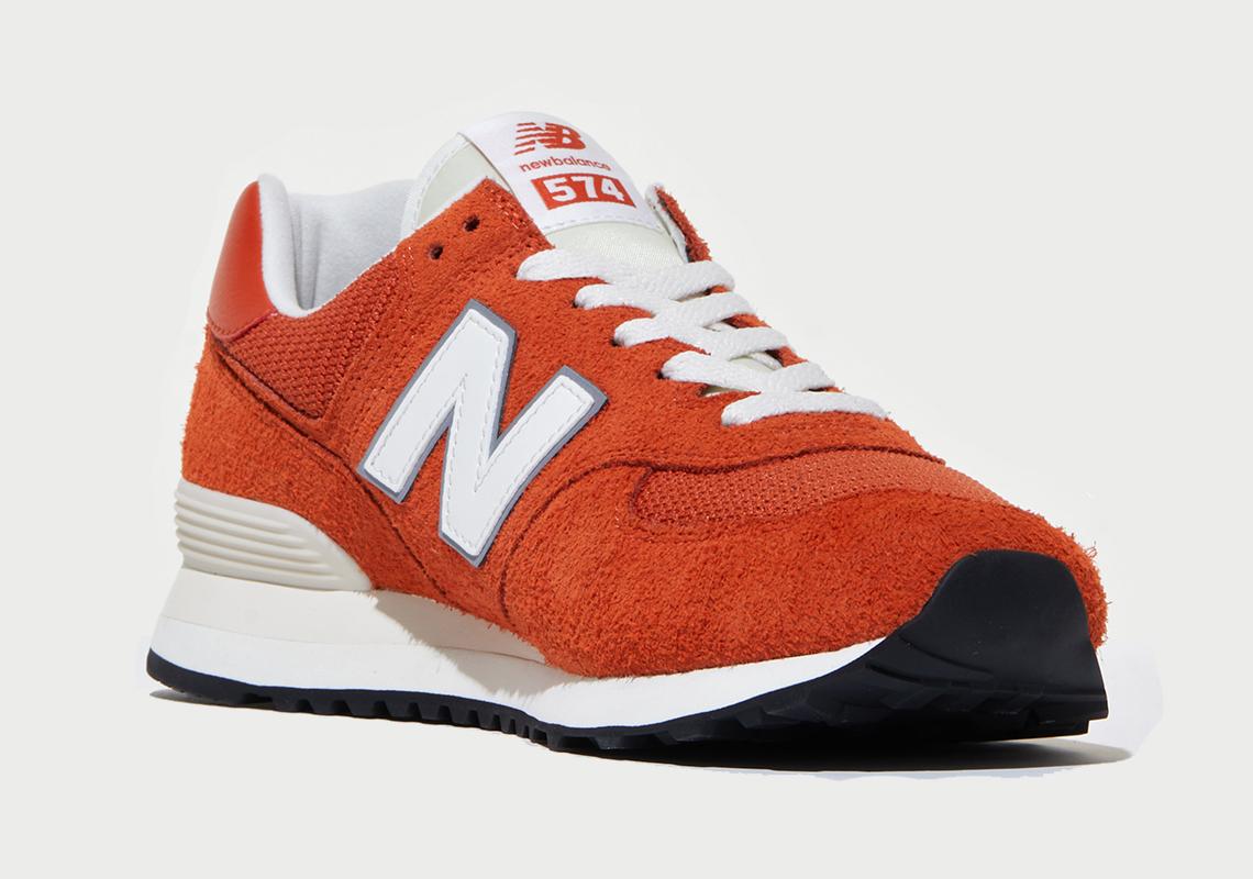 size? New Balance 574 Orange Release Date | SneakerNews.com