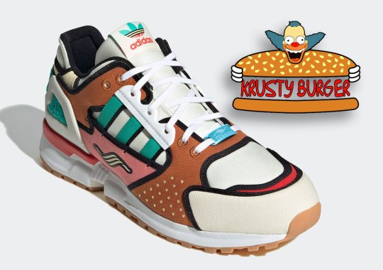 The Simpsons And adidas To Drop A ZX 10.000C Inspired By Krusty Burger