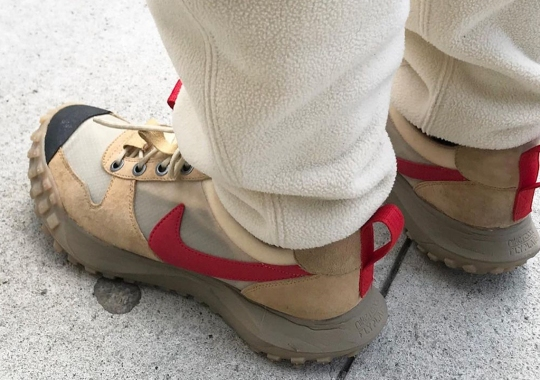 Tom Sachs Spotted In Alternate Nike Mars Yard 2.5 With ACG Mountain Fly Soles