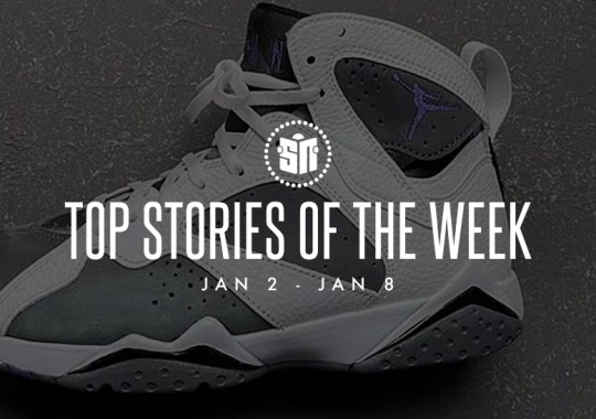 Twelve Can't Miss Sneaker News Headlines from January 2nd to January 8th