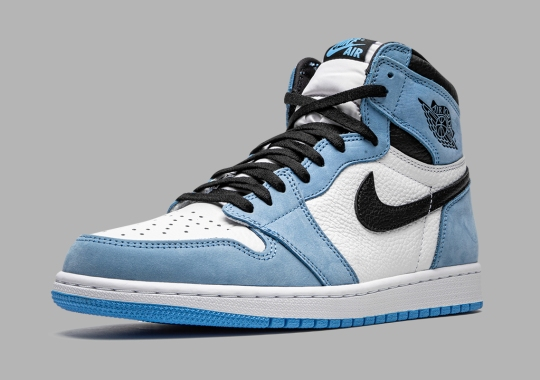 "Air Jordan 1 Retro High OG ""University Blue"" Release Postponed To March 6th"